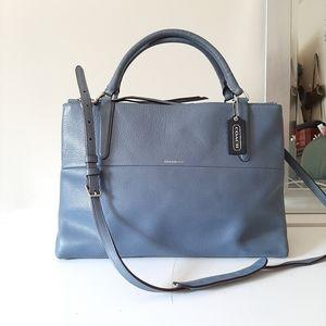 Rare Coach Pebbled Leather Borough Bag #28160